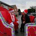 We are Cheshire East volunteer with Santa