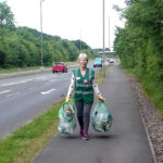 Gill from the Crewe Clean Team