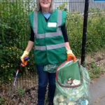 Pauleen from the Crewe Clean Team