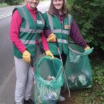 Sharon and Evie from the Crewe Clean Team