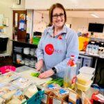 Chance Changing Lives volunteer preparing food